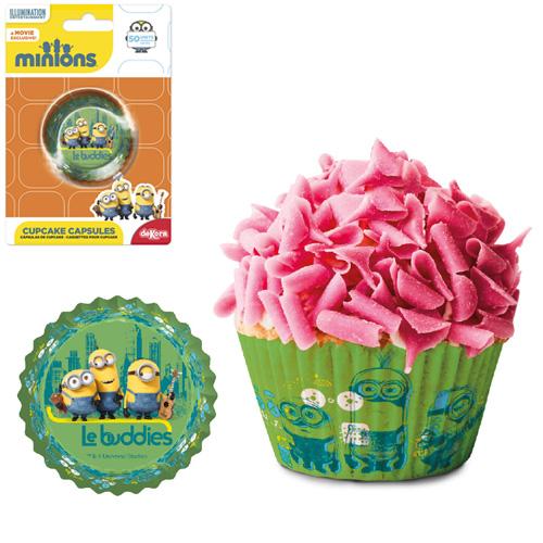 Papelote p/ Cupcake Minions