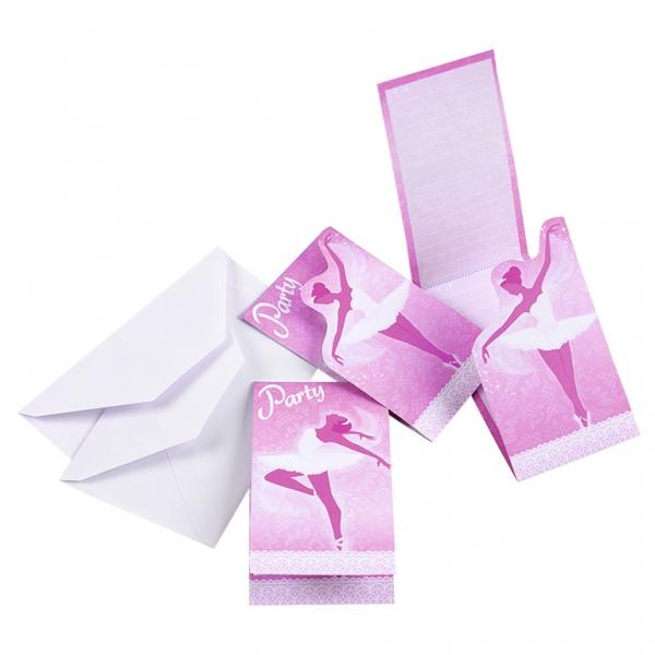 8 Convites Bailarina