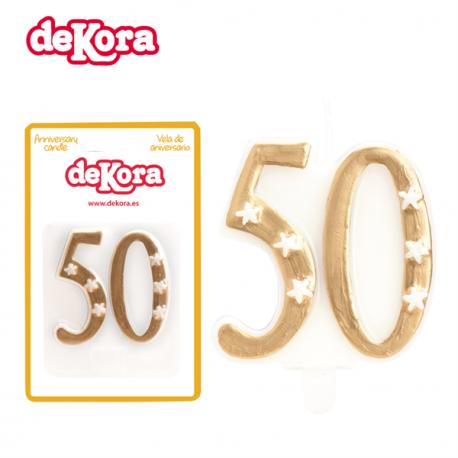 Vela de Aniversário 50 Anos