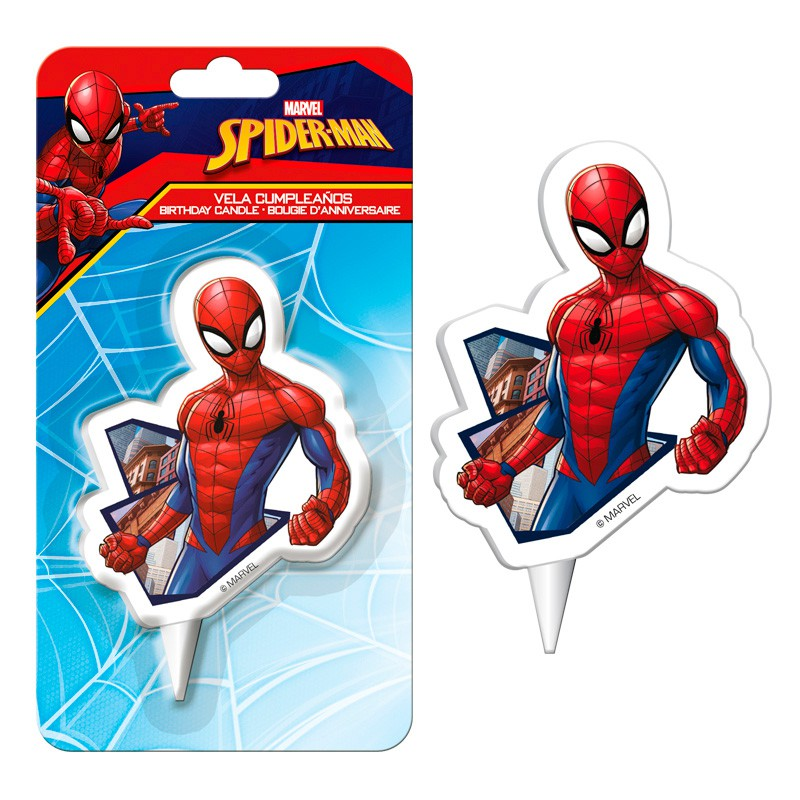 Vela 2D Homem-Aranha