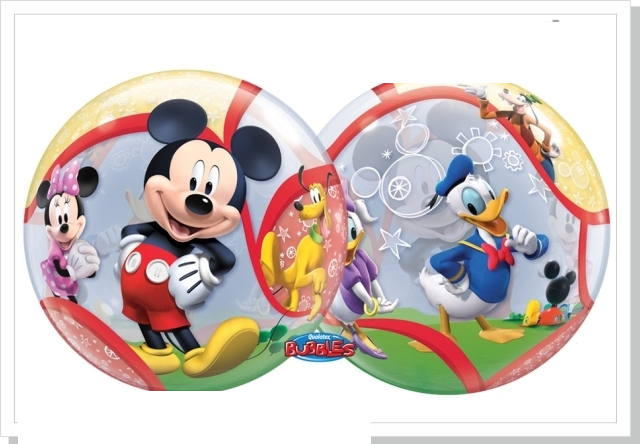 Balão Bubbles Mickey