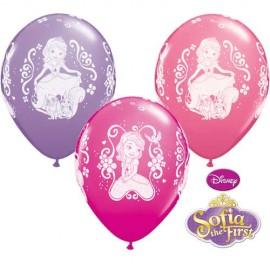 6 Balões Princesa Sofia
