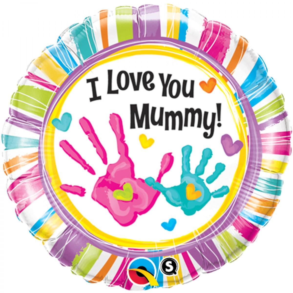 Balão I Love you Mummy