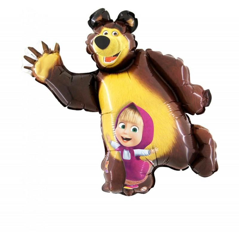 Balão SuperShape Masha e o Urso