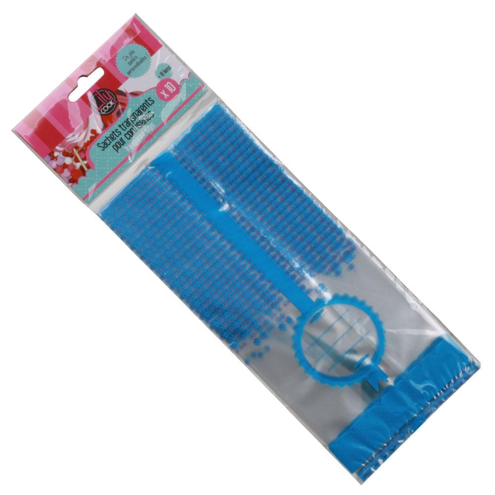 Sacos Transparentes Azuis