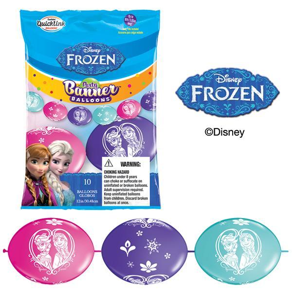 Faixa de balões Frozen
