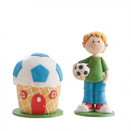 Conj. menino de futebol
