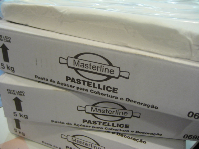 Pasta de Açúcar Branca Pastellice -  1,200kg