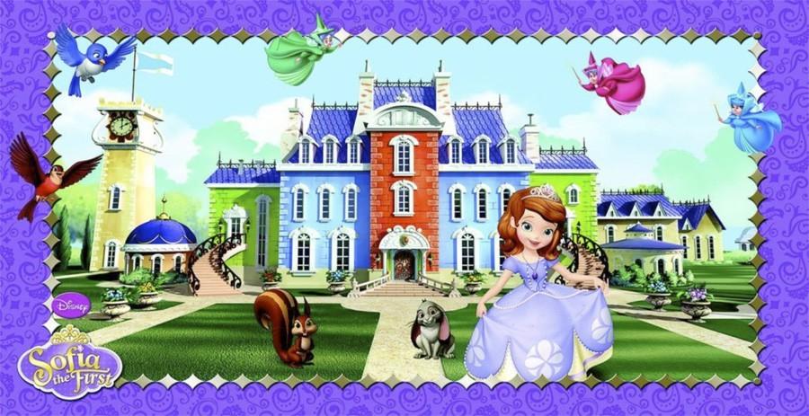 Cenário Princesa Sofia