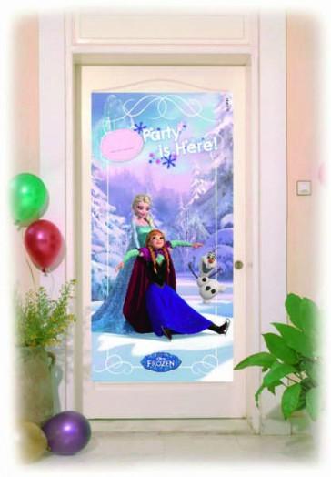 Cartaz p/ porta Frozen