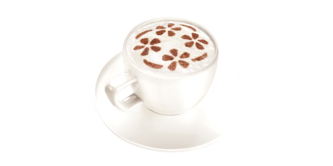 Decorações p/ Cappuccino - 6 und