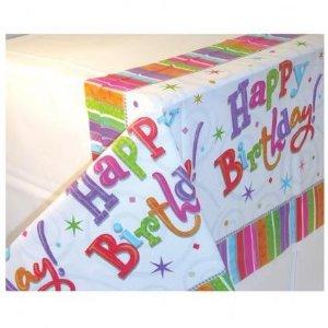 Toalha de Mesa Happy Birthday