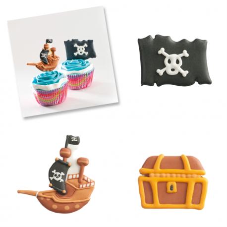 Peças em açúcar dos Piratas