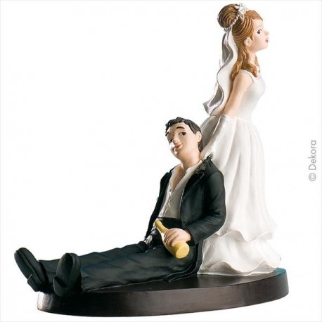 Noiva a puxar o Noivo