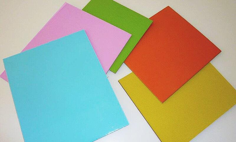 Bases quadradas/rectangulares 2 faces: Vermelho/branco