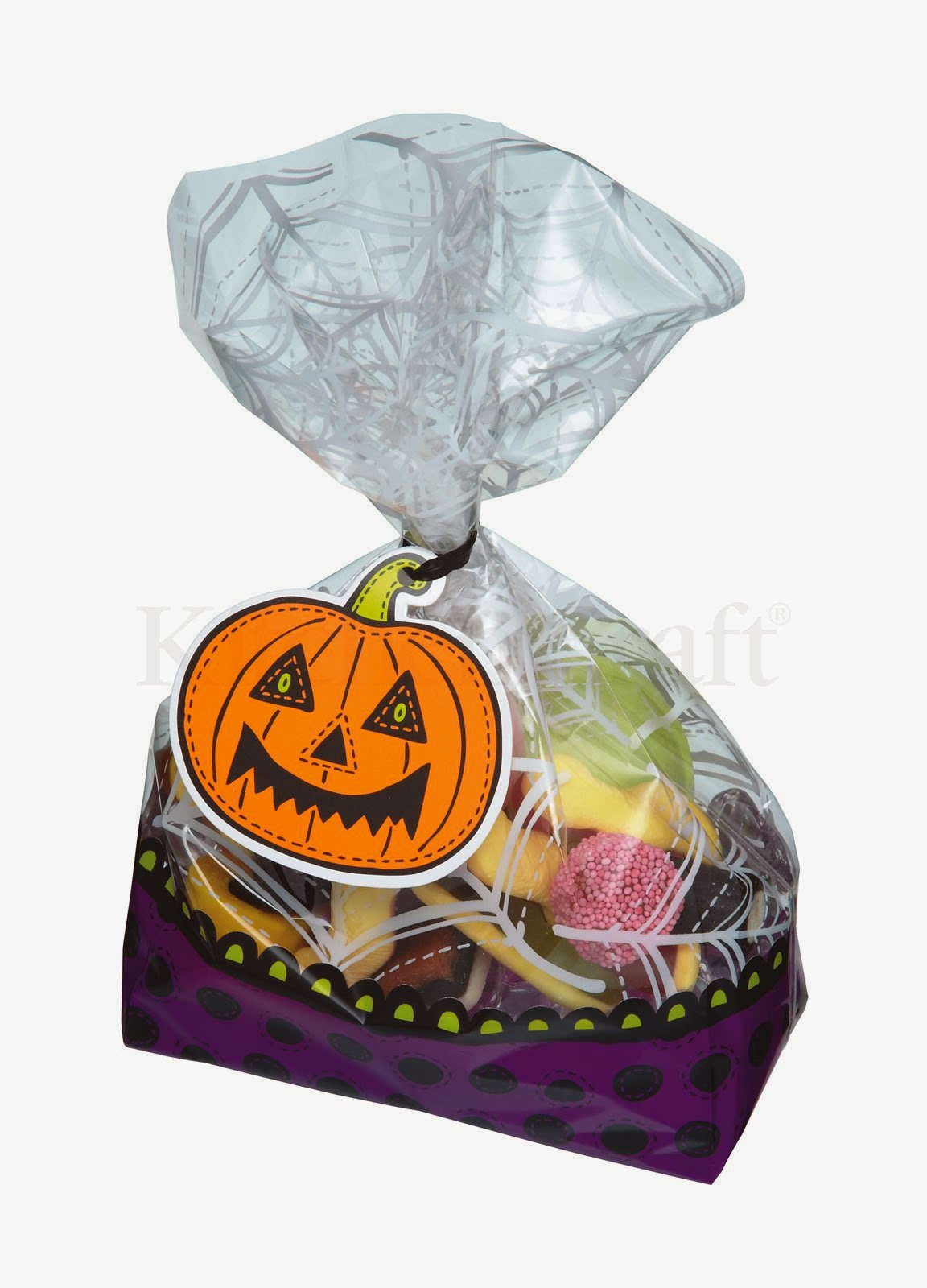 Sacos de Festa c/ Etiqueta Halloween