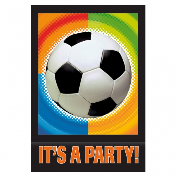 8 Convites Futebol