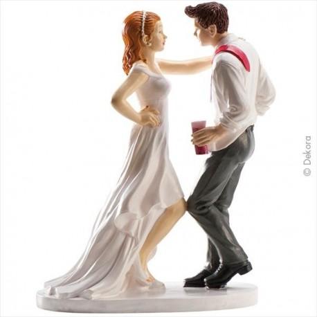 Noivos a dançar