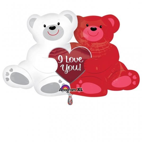 Balão Ursinhos I Love You