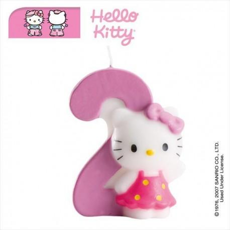 Vela nº2 Hello Kitty