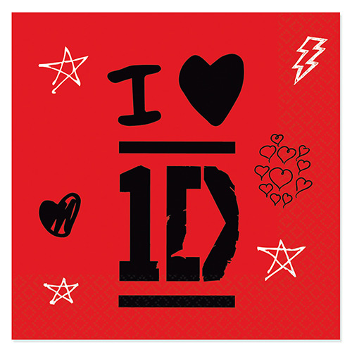 Guardanapos One Direction