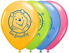 10 Balões Winnie the Pooh
