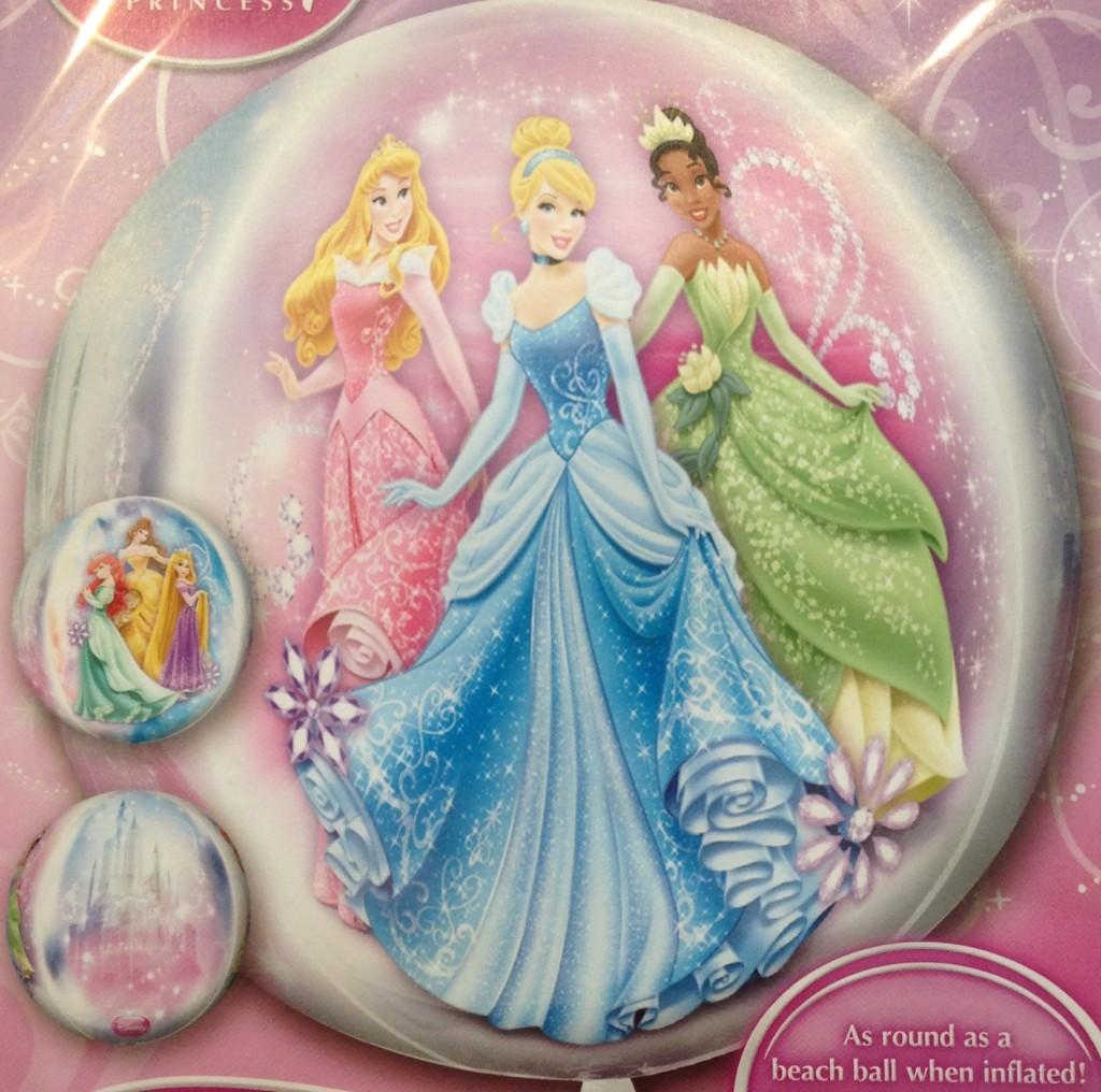 Balão Princesas