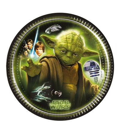 Pratos Star Wars Yoda