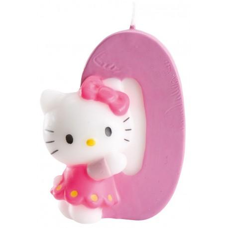 Vela nº0 Hello Kitty