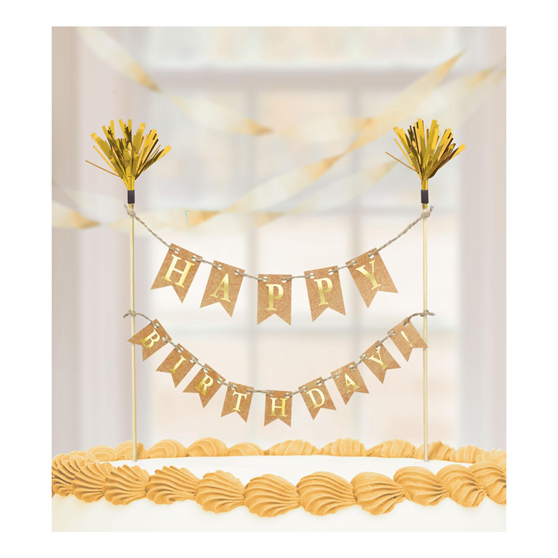"""Topo de Bolo """" Happy Birthday"""""""