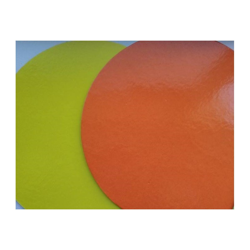 Bases rectangulares 2 faces: amarelo/laranja