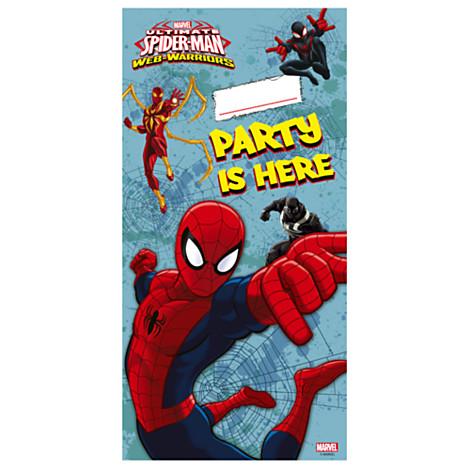 Cartaz p/ Porta Homem Aranha