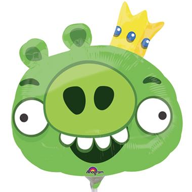 Balão Angry Birds Verde