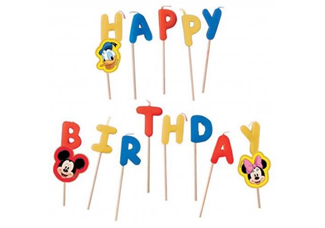 Vela Happy Birthday Mickey