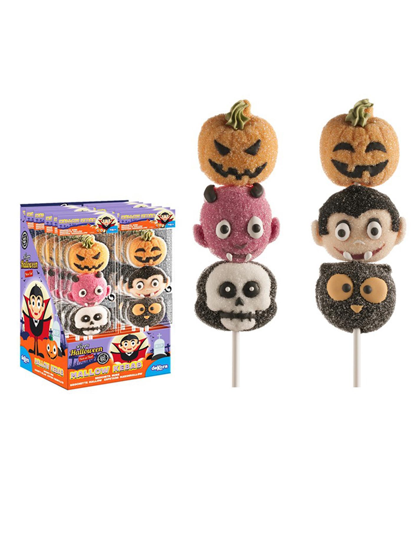 Espetada Marshmalow Halloween