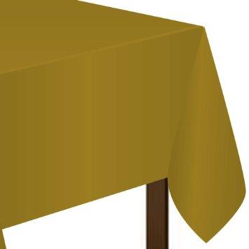 Toalha de Mesa Dourada