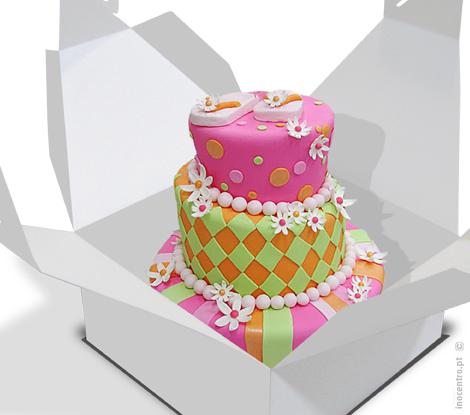 Caixas altas para Cake Design