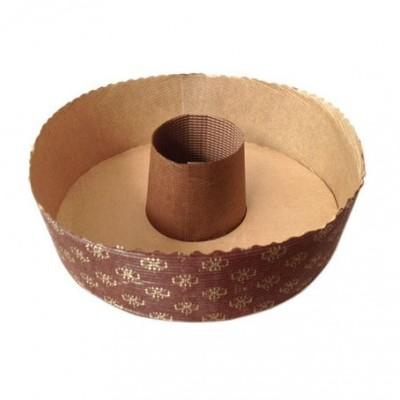 Forma de cozedura redonda com buraco
