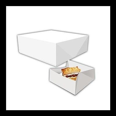 Caixas para pastelaria rectangulares