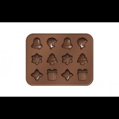 Molde de Chocolate - Motivos de Natal
