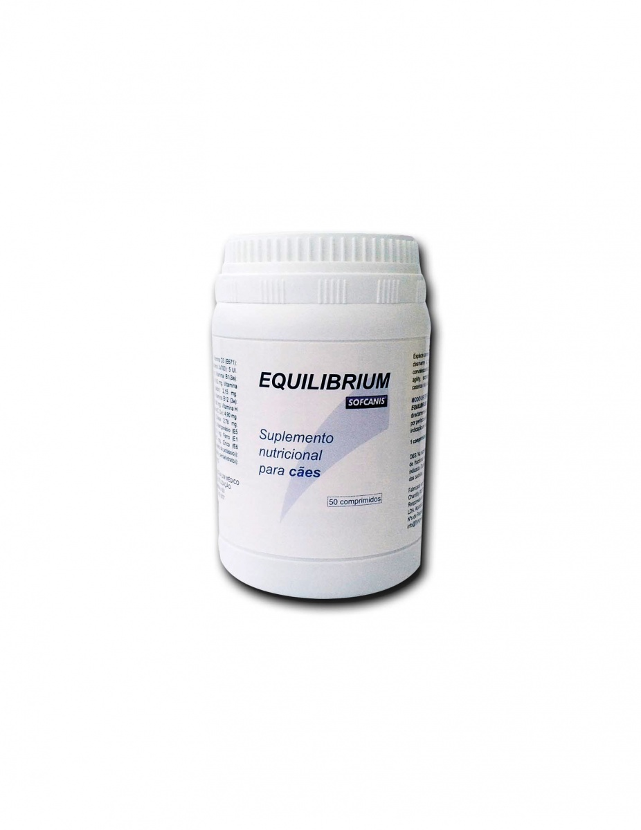 EQUILIBRIUM - Multivitaminado (formulado especialmente para cães alimentados com alimentos do tipo caseiro ou raçoes comerciais económicas)