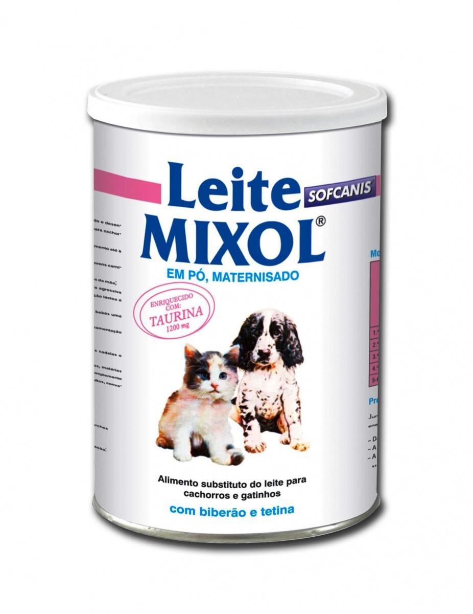 MIXOL Leite em pó - Leite de substituição maternizado para cachorros e gatinhos