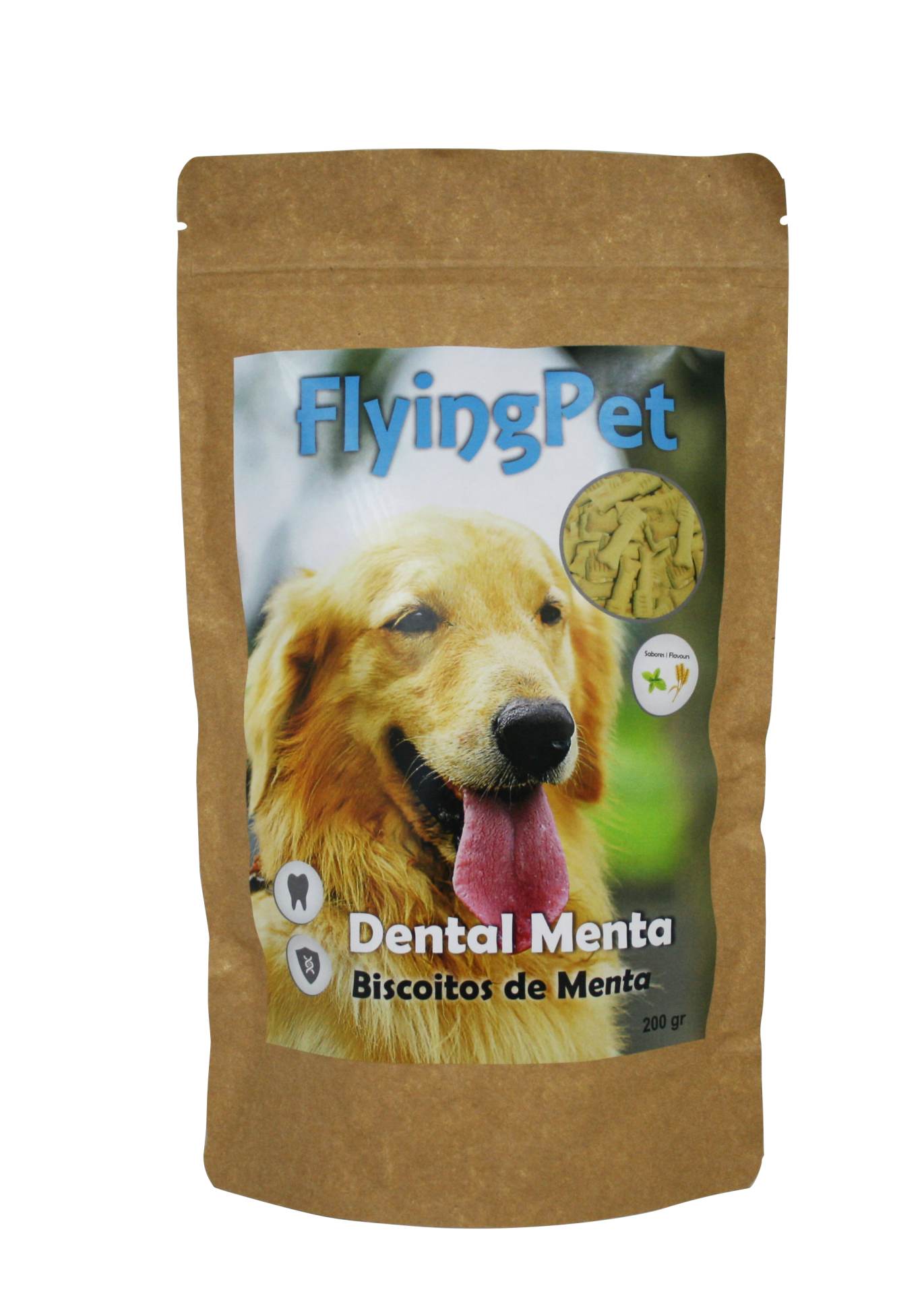 Biscoitos de Menta - Dental Mint (200 g)
