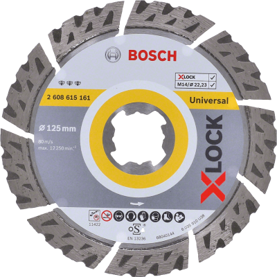 Bosch X-LOCK - Disco de corte com diamante Best for Universal