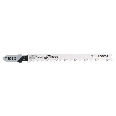 Bosch Jogo de 3 Lâminas de serra vertical T 101 D Clean for Wood
