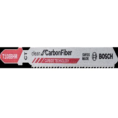 Lâminas de serra vertical T 108 BHM Clean for Carbon Fiber