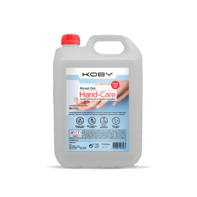 Koby Álcool Gel Hand-Care 5 lt