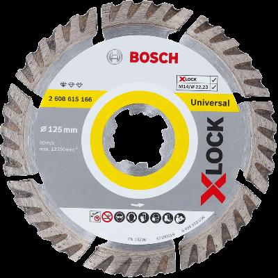 Bosch X-LOCK - Disco de corte com diamante Standard for Universal