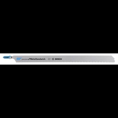 Bosch Jogo de Lâminas de serra vertical T 1018 AFP Precision for Metal-Sandwich