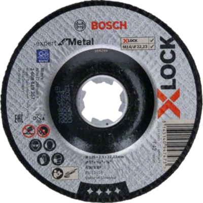Bosch X-LOCK - Disco de corte Expert for Metal
